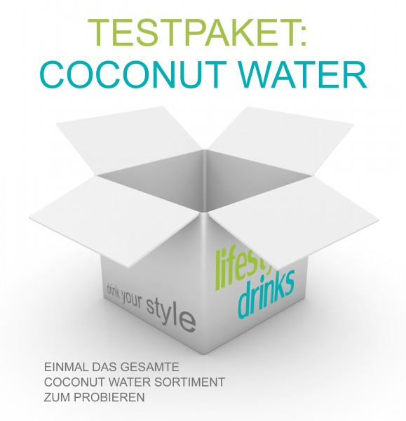 "Testpaket ""Coconut Water"""