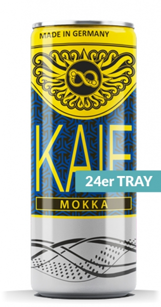 KAIF - Energy Mokka, 250ml - 24 Dosen
