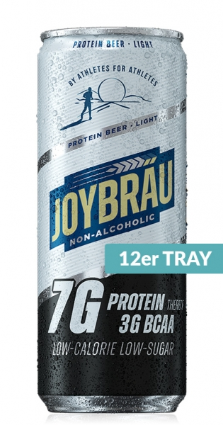 Joybräu - Protein beer Light, non-alcoholic, 0.33l - 12 Cans