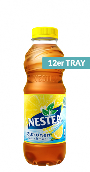 Nestea Ice Tea - Zitrone, 500ml - 12 PET-Flaschen
