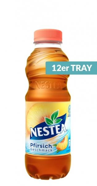Nestea Ice Tea - Pfirsich, 500ml - 12 PET-Flaschen