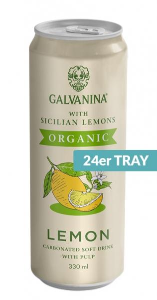 Galvanina - BIO lemonade, Lemon (IT-BIO-008), 330ml - 24 Dosen