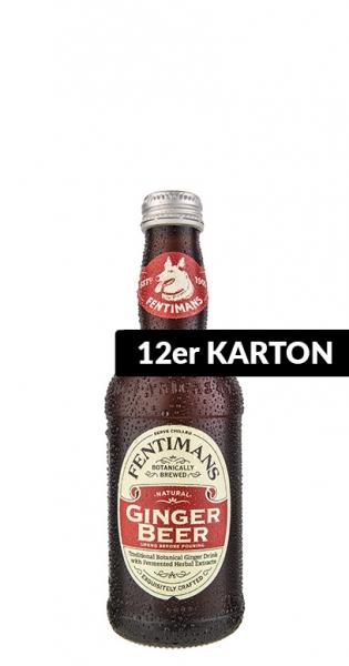 Fentimans - Ginger Beer, alkoholfrei, 275ml - 12 Glas-Flaschen
