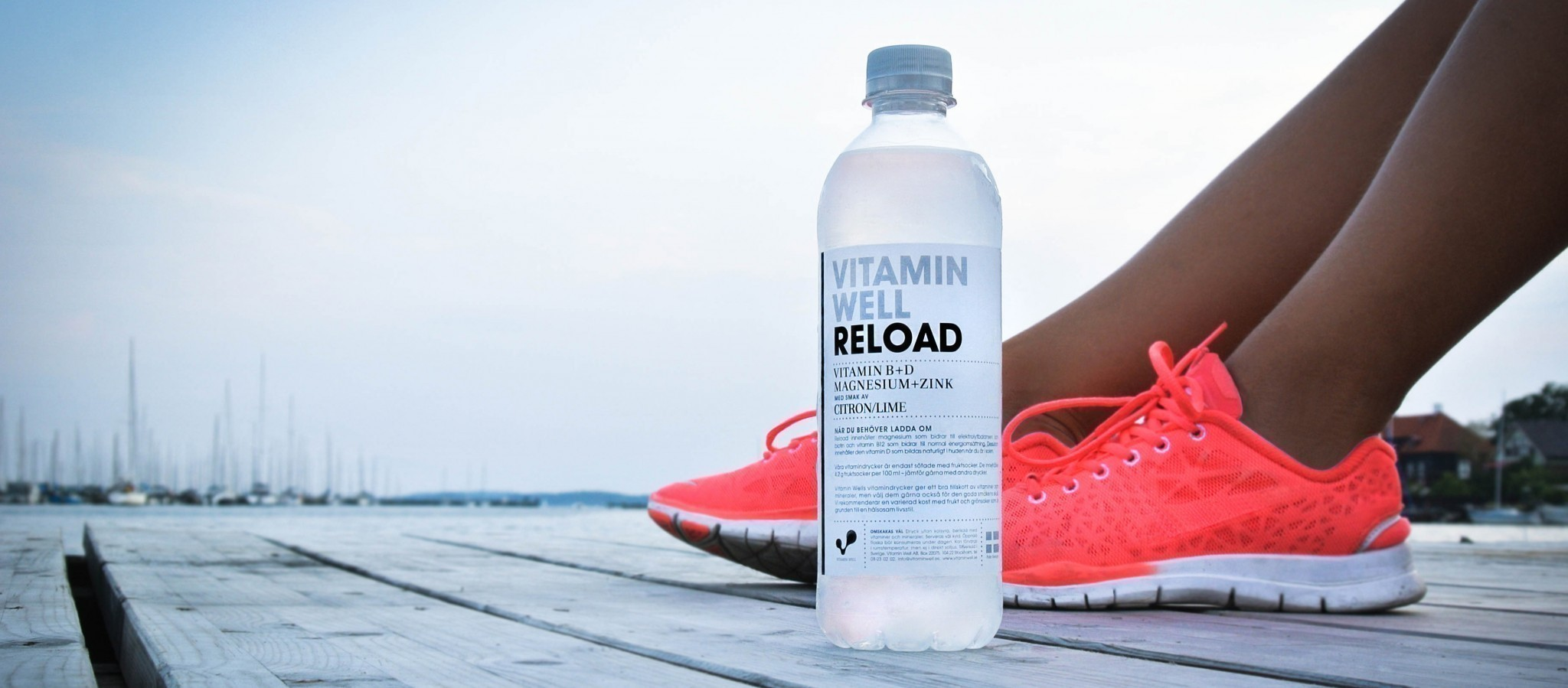 Der Vitamin Drink - Vitamin Well beim Sport