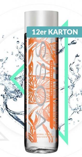 Voss Water - Premium Wasser - Tangerine and Lemongrass, sparkling, 375ml - 12 Glas-Flaschen