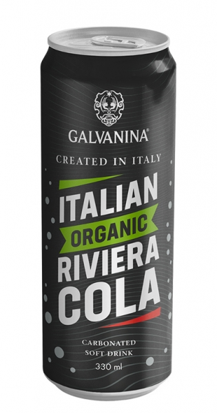 Galvanina - Bio lemonade, Riviera Cola, 330ml - Dose