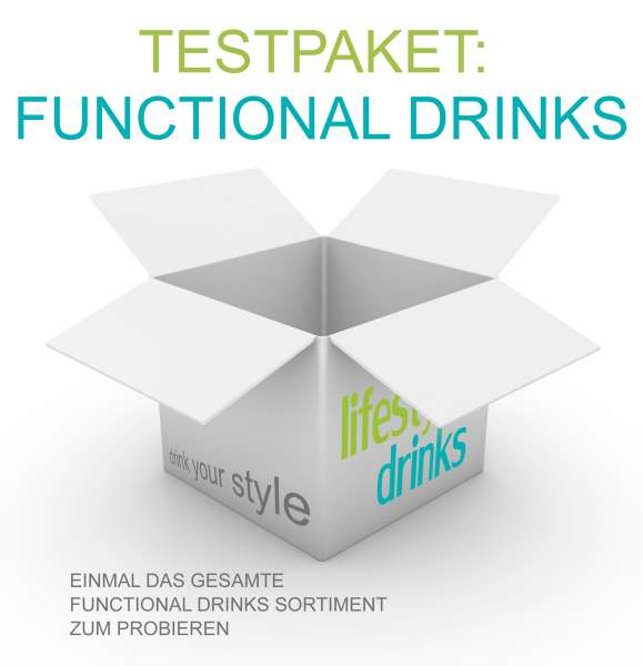 "Testpaket ""Functional Drinks"""
