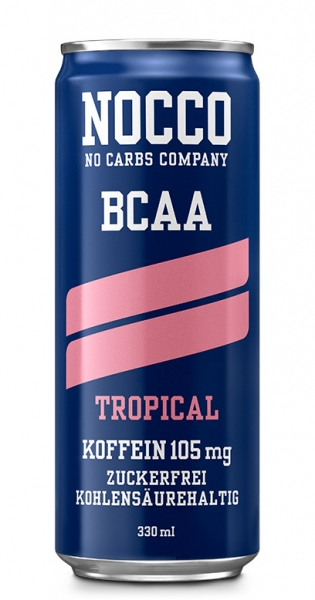 NOCCO BCAA - Tropical, 0.33l - Can