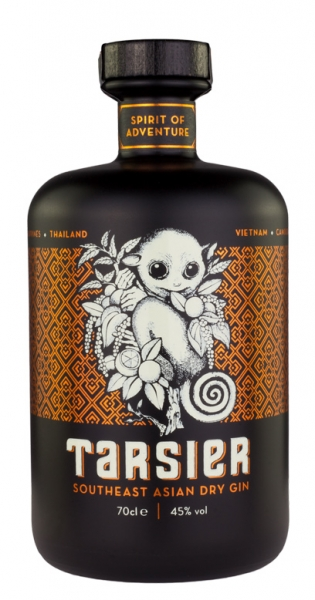 Tarsier - South East Asian Dry Gin, 0.7l - Glass Bottle