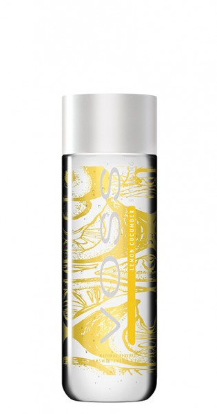 Voss Water - Premium Water - Lemon and Cucumber, sparkling, 0.33l - PET Bottle