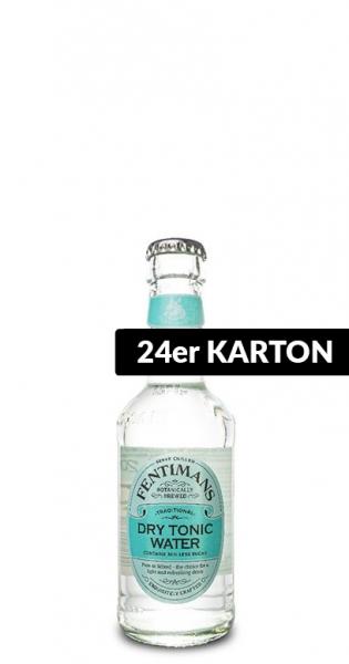 Fentimans - Dry Tonic Water, 200ml - 24 Glas-Flaschen