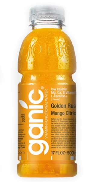 ganic Vitaminwater - Sport, Golden Rush, Mango Citric Ca, 500ml - PET-Flasche