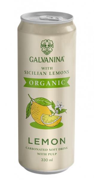 Galvanina - Bio lemonade, Lemon, 330ml - Dose