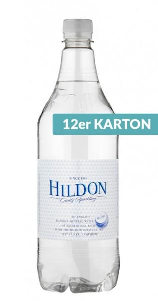 Hildon Water - Mineralwasser, sparkling, 1l - 12 PET-Flaschen