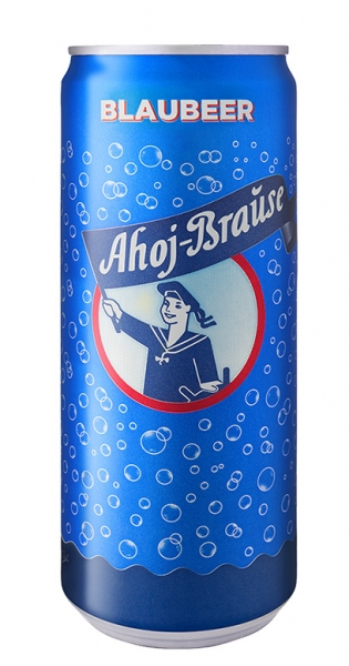 Ahoj Brause Drink - Blueberry, 0.33l - Can