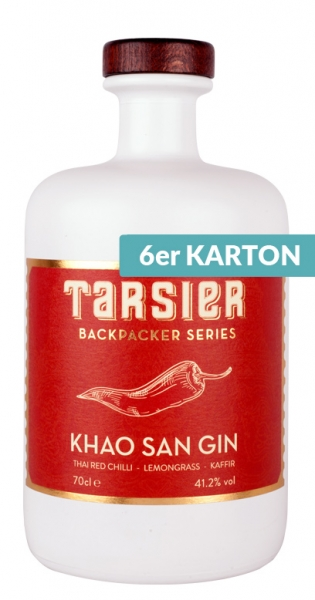 Tarsier - Khao San Gin, 700ml - 6 Glas-Flaschen