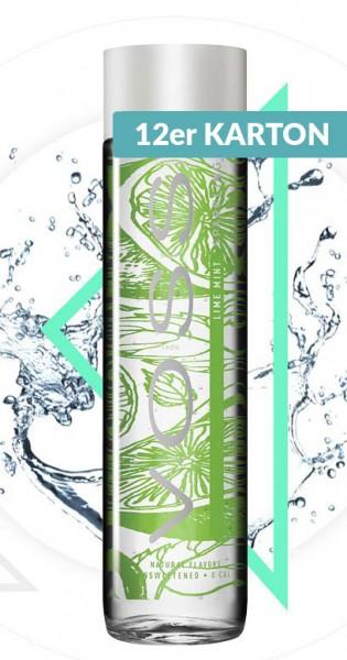 Voss Water - Premium Wasser - Lime and Mint, sparkling, 375ml - 12 Glas-Flaschen