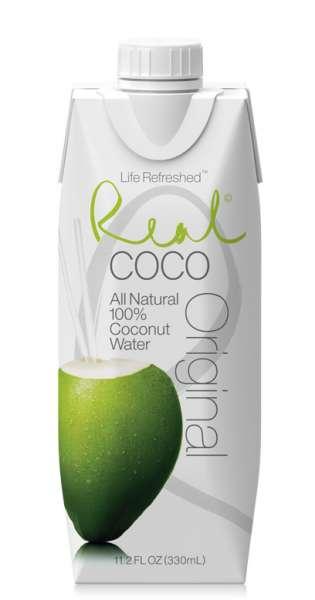 Real Coco - Coconut Water, Pure, 330ml - Tetra-Pak