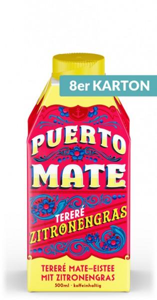 Puerto Mate - Zitronengras, 500ml - 8 Tetra-Paks