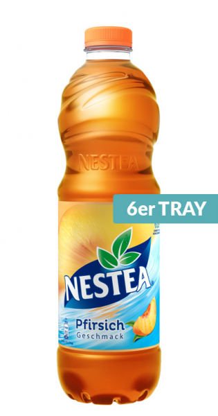 Nestea - Peach, 1.5l - 6 PET Bottles