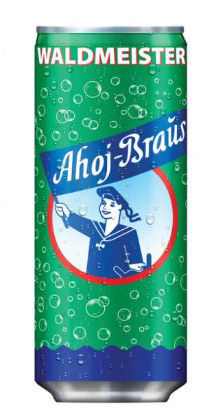Ahoj Brause Drink - Waldmeister, 330ml - Dose