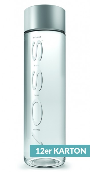 Voss Water - Premium Wasser, still, 850ml - 12 PET-Flaschen