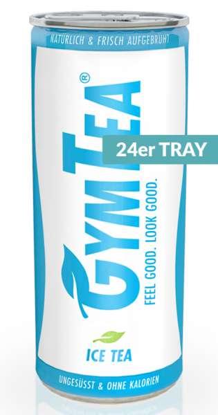 GymTea - Tee Getränk, Sport Ice Tea, 250ml - 24 Dosen