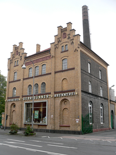 Kölsch Brewery Sünner in Cologne