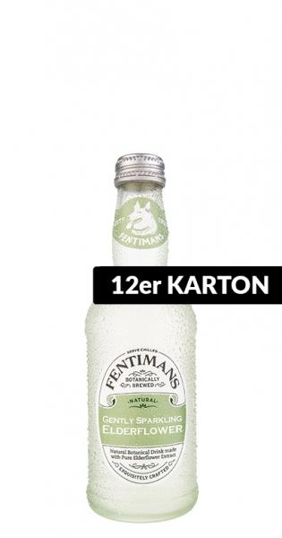 Fentimans - Gently Sparkling Elderflower, 275ml - 12 Glas-Flaschen