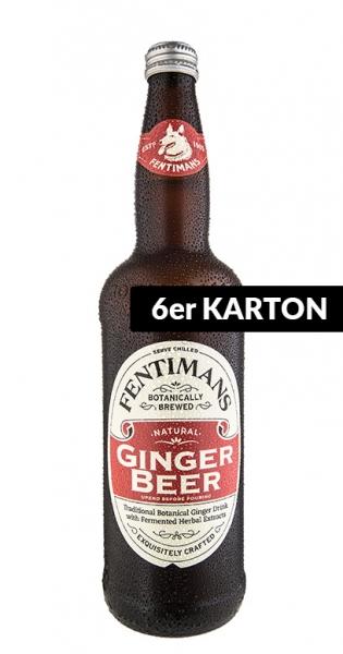 Fentimans - Ginger Beer, alkoholfrei, 750ml - 6 Glas-Flaschen