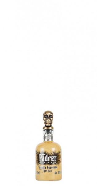 Padre Azul - Tequila Reposado, 50ml - Glas-Flasche