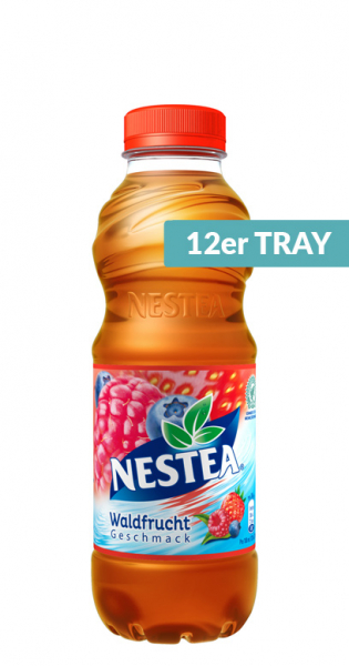 Nestea Ice Tea - Waldfrucht, 500ml - 12 PET-Flaschen