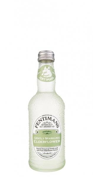 Fentimans - Gently Sparkling Elderflower, 275ml - Glas-Flasche