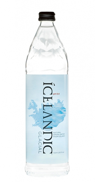 Icelandic Glacial Water - Gletscherwasser, still, 750ml - Glas-Flasche