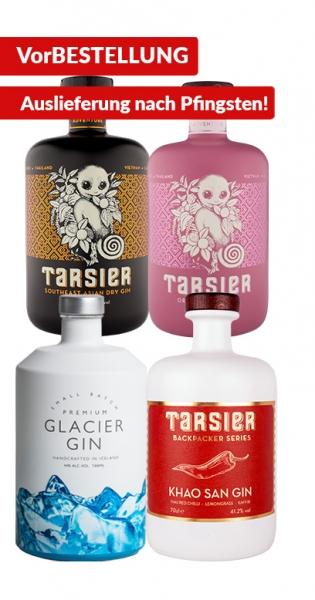 Gin Bundle - Kaufe Glacier Gin und Tarsier Gin (1x Glacier Gin, 1x Khao San, 1x South East Asian Dry