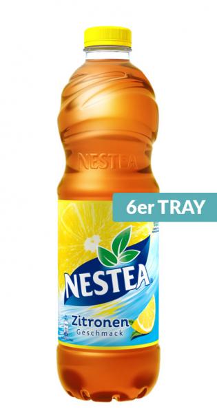 Nestea Ice Tea - Zitrone, 1500ml - 6 PET-Flaschen