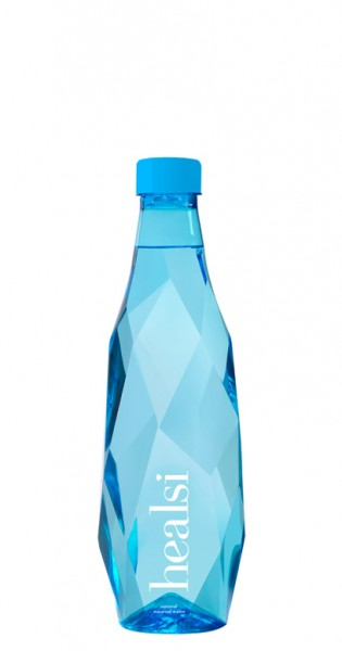 healsi Water - Diamant Water, blue, still, 500ml - PET-Flasche