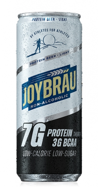 Joybräu - Protein beer Light, non-alcoholic, 0.33l - Can