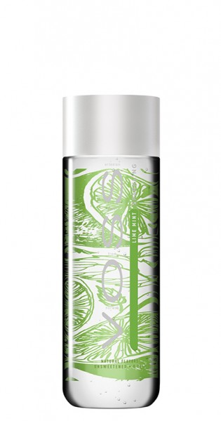 Voss Water - Premium Wasser - Lime and Mint, sparkling, 330ml - PET-Flasche