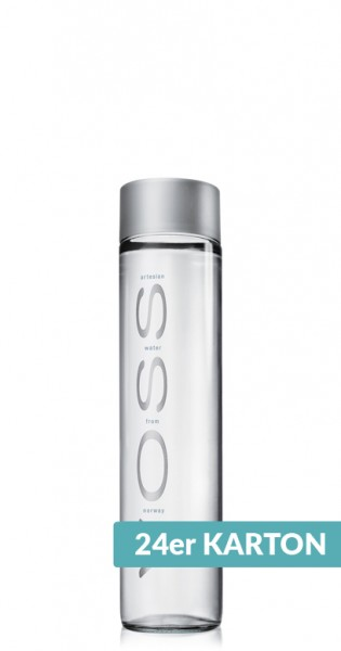 Voss Water - Premium Water - still, 0.375l - 24 Glass Bottles