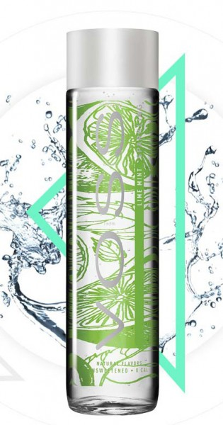 Voss Water - Premium Water - Lime and Mint, sparkling, 0.375l - Glass Bottle