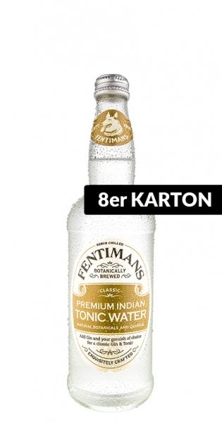 Fentimans - Premium Indian Tonic, 0.5l - 8 Glass Bottles