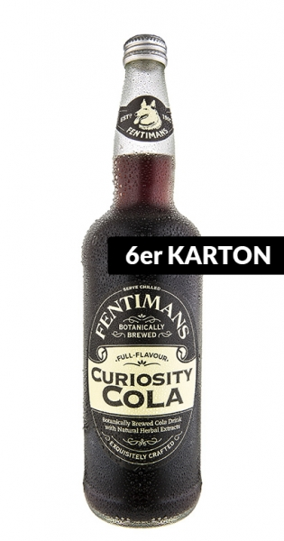 Fentimans - Curiosity Cola, 0.75l - 6 Glass Bottles