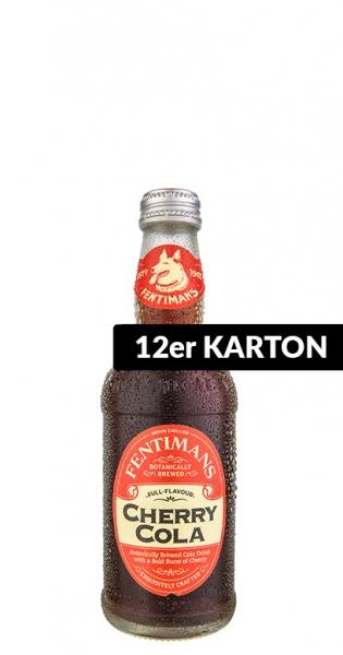Fentimans - Cherry Cola, 0.275l - 12 Glass Bottles