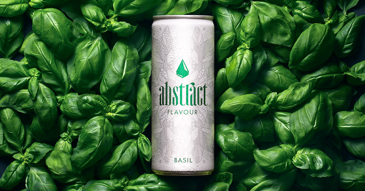 Abstract Flavour Basilikum Drink