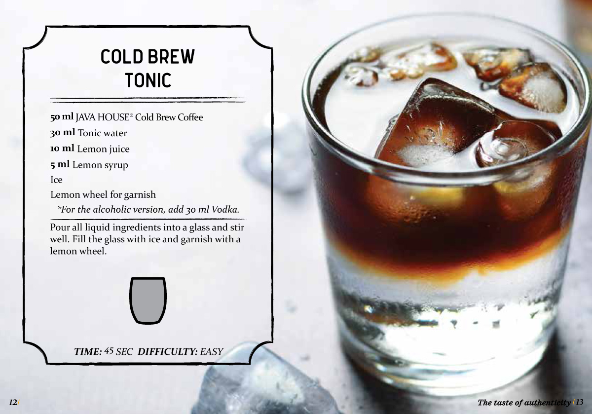 java house - cold brew coffee tonic