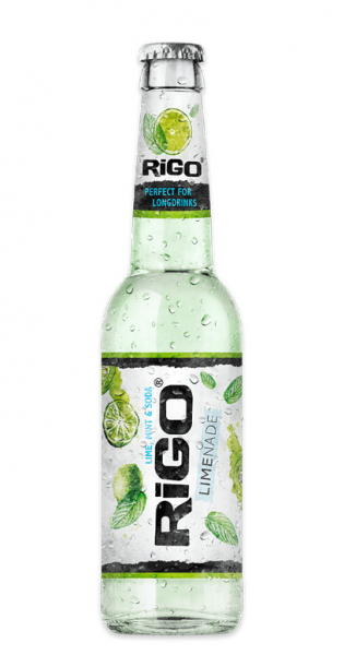 Rigo - Limenade, Lime, Mint and Soda 0.33l - Glass Bottle
