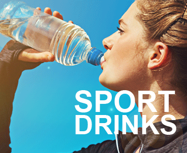 sport drinks und power drinks