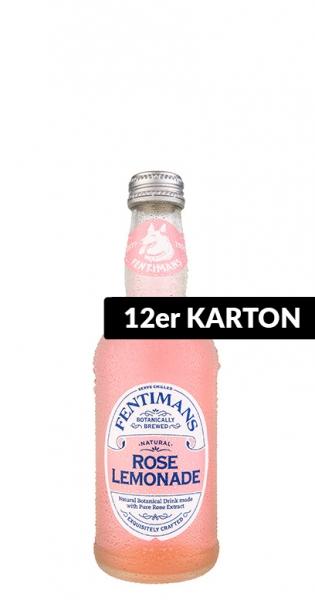 Fentimans - Rose Lemonade, 0.275l - 12 Glass Bottles