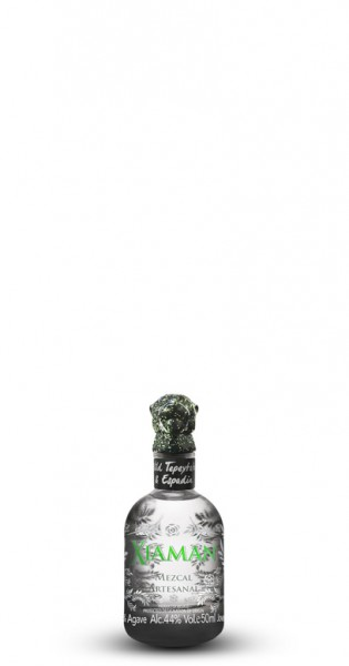 Xiaman - Artisanal Mezcal, 50ml - Glas-Flasche